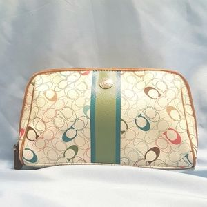 Coach Chelsea Cosmetic Makeup Bag Pouch